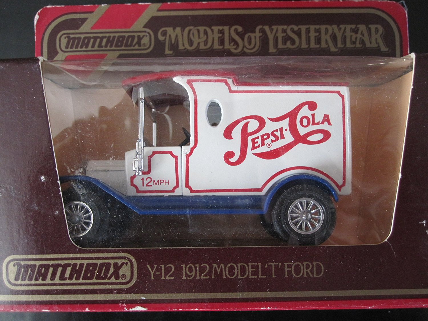 Models of Yesteryear Lesney  Y-21 1927 Ford Model A Woody Matchbox