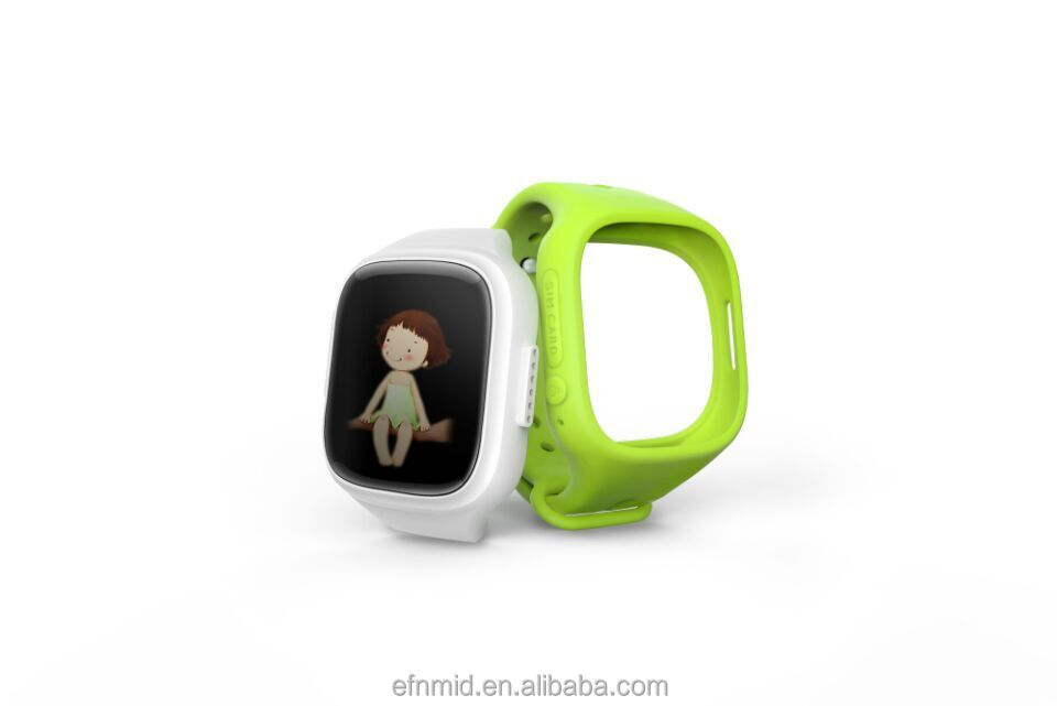 children/kids safe gps tracking watch phone with touch screen