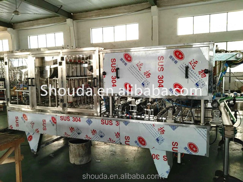 Alibaba Gold Supplier strawberry jam 2000 Cup Filling Sealing Machine
