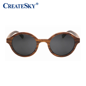 2017 OEM Flexible Wooden Sunglasses Cheap Wholesale Sunglasses with Custom Logo