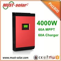 48V 230V Off Grid Pure Sine Wave Home Power Supply Solar Inverter Controller 5kva