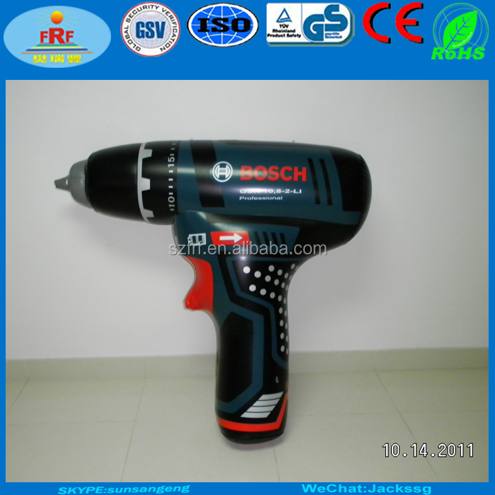 Store Display Inflatable Drill, Inflatable Screw Driver