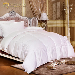 Hot sale good production line winter summer duvet microfiber down alternative comforter