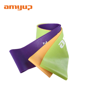 High quality rubber resistance band exercise loop band
