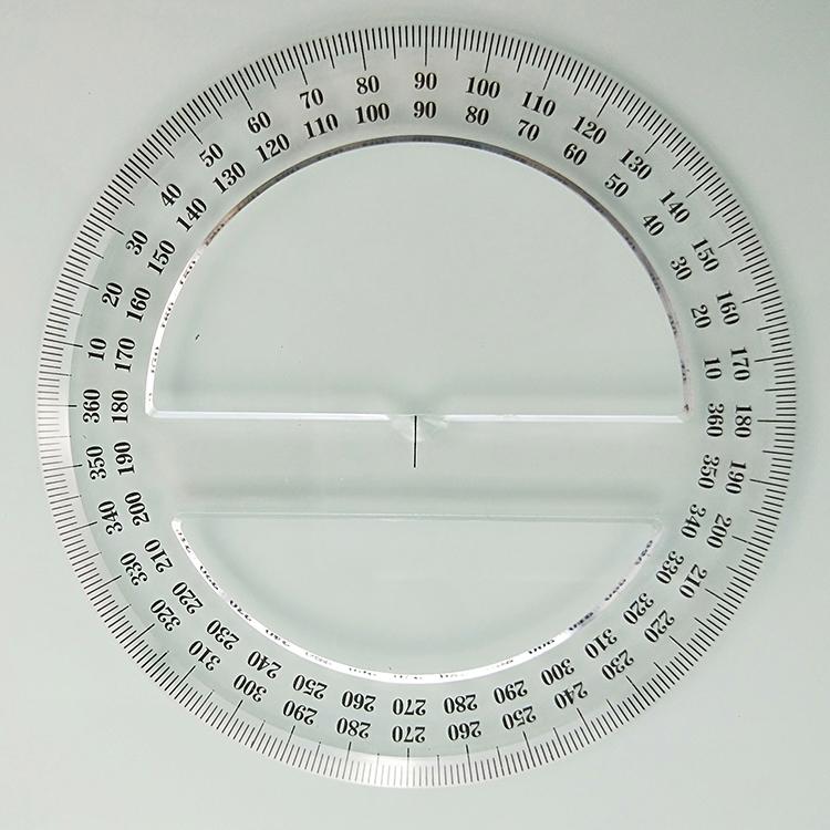 12 Cm 360 Circular Round Busur Derajat