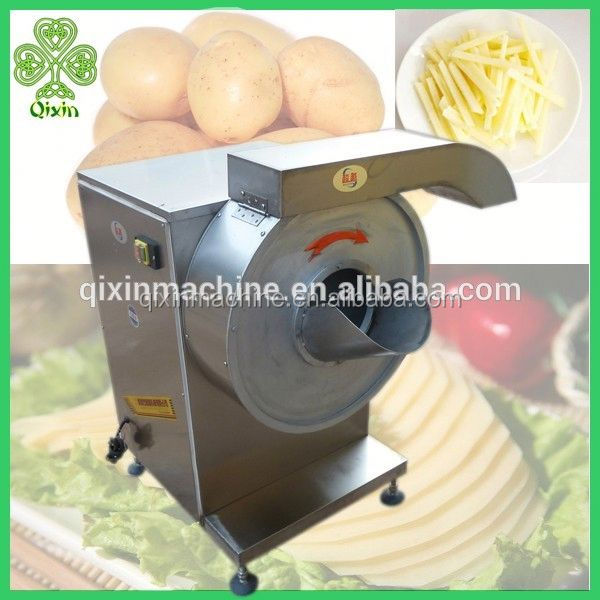 high output stainless steel commercial electric potato chip slicer/cutter