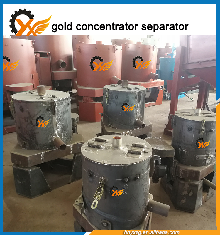 Special designed Gravity Separating Gold from Sand Automatical Concentrator