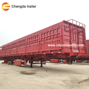 60T Transport bulk horse box trailer for sale