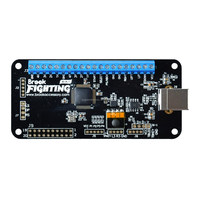 Brook Universal Fighting Board PCB (UFB) w / Pin Header for Xbox One for Xbox 360 for PS4 / for PS3 for Wiii U PC