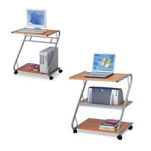 Classical Simple Design School Classroom or Office mobile PC computer workstation