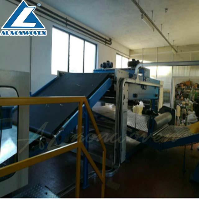 0.8D-10D Polyester Staple Fiber/Hollow Staple Fiber/PP Fiber Thermal Bonded Wadding Quilt Making Production Line