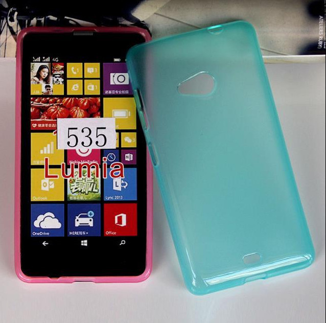 Mix Colors Jelly Soft Wave Tpu Cover Case For Nokia Lumia 535 ...