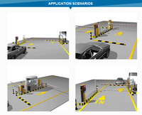 Car Parking Rfid Automatic Gate Systems - Buy Automatic Car ...