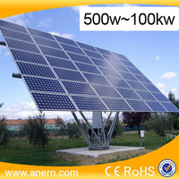 China direct supplier on grid 500W to 100KW solar power generator system