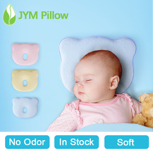 No Odor Memory Foam Baby Flat Head Pillow Baby Pillow