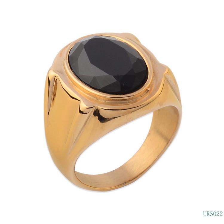 Men Finger Ring Designs Gold Ring Black Stone Buy Gold Ring