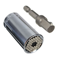 Universal Gator Socket Adapter Grip with Power Drill Adapter Tool