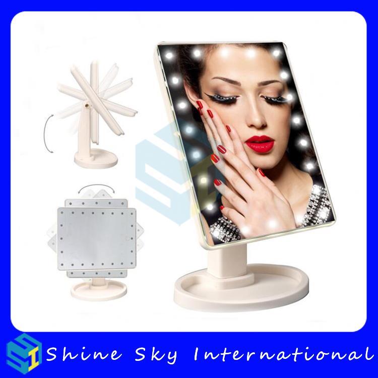 envo libre regalos de san valentn led de pantalla tctil espejo de maquillaje vanidad led con