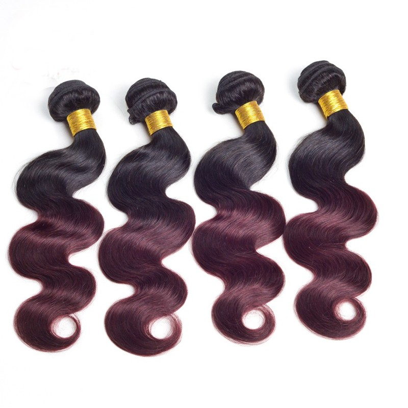 Natrual Color Hair Weft Extension Customer Dimension New Design