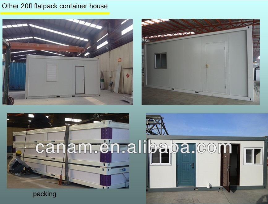 Flatpack pre assembled container house for office
