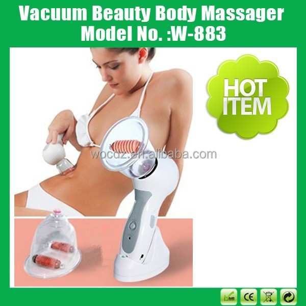 Hot Sale Portable Body Treatment Rolling Massager Anti Cellulite Slim Cup
