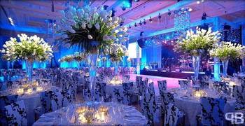 Tall Gl Vases Wedding Table Centerpieces