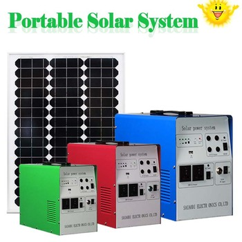 Solar Panel Systerm 1kw Solar Cell Kit Dc Ac Solar Home