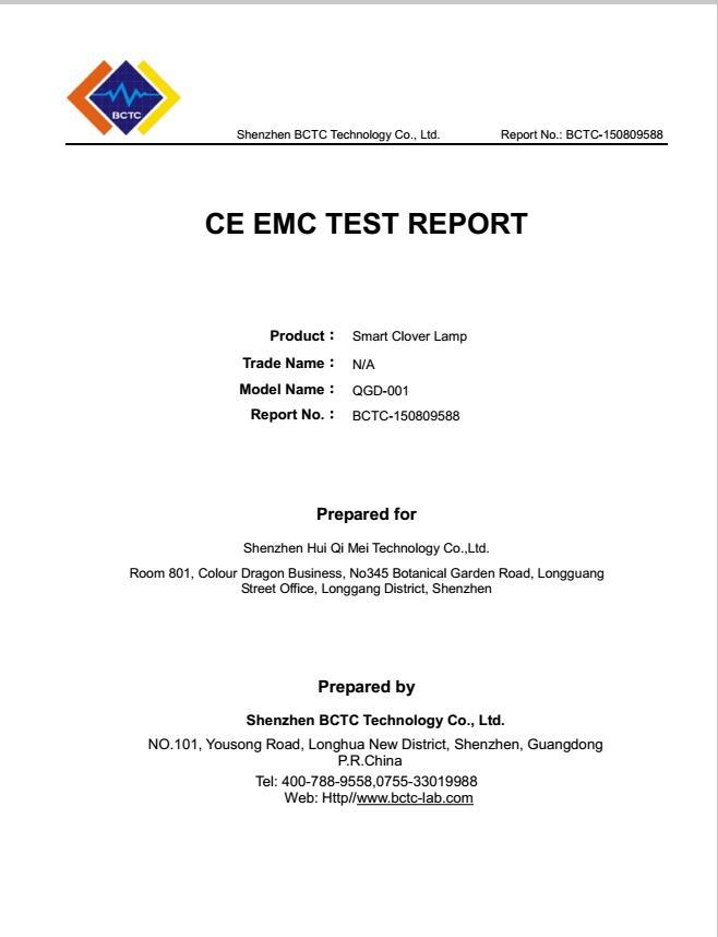 Company Overview - Shenzhen Hui Qi Mei Technology Co , Ltd