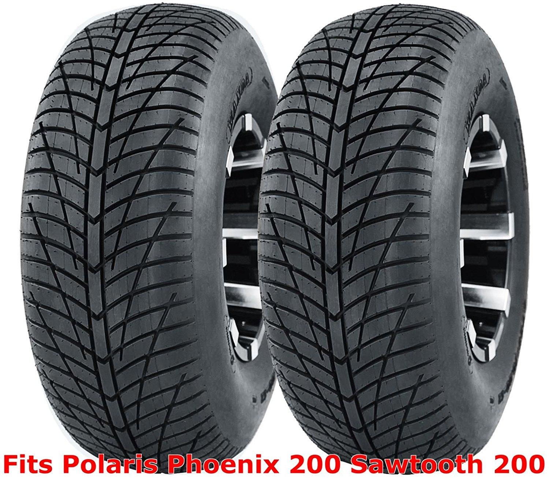 POLARIS PHOENIX 200 AMBUSH SPORT ATV TIRES  20X10-9 REAR 2 TIRE SET 4PR