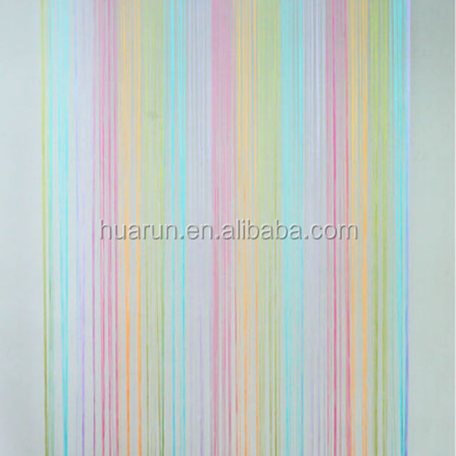 Multicolour Fringe Door Window Room Divider Panel String Curtain Strip Tassel