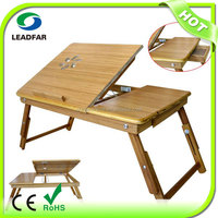 Leadfar folding lap desk with light