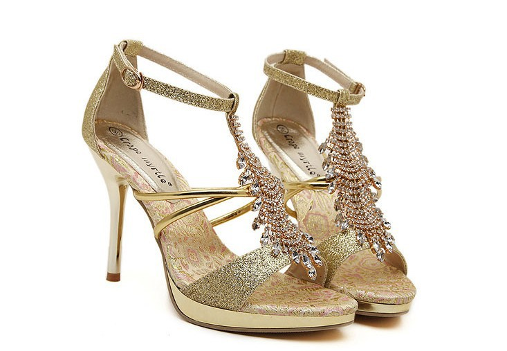 2015 free shipping summer new tidle diamond peep toe thin shoes,sexy rhinestone fish head pumps ultra high-heeled