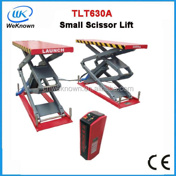 Launch Car Lifts Tlt632af,Scissor Car Lift,Ultra-thin Small Scissor Lift -  Buy Launch Car Lifts Tlt632af,Scissor Car Lift,Ultra-thin Small Scissor