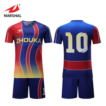 best service 7a4b8 19b71 Customized Bulk Football Shirt Maker Cheap Polyester Striped Soccer Jerseys  Full Sublimation Printing Soccer Wear - Buy Striped Soccer ...
