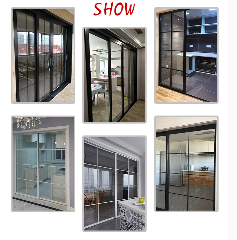 sliding glass aluminum door Philippines price and design