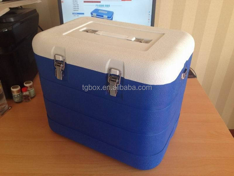 new developed 16L PU insulation portable medical ice box
