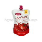 200ML/500ML Stand Up Plastic Spouted Tomato Sauce Ketchup Sachet