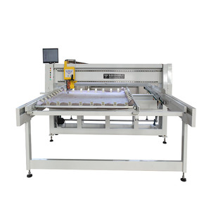 Automatic computer control single needle quilting machine