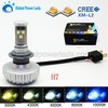 High Brightness Automobile/motorcycle LED light lamp H7 3000LM hid 6500K