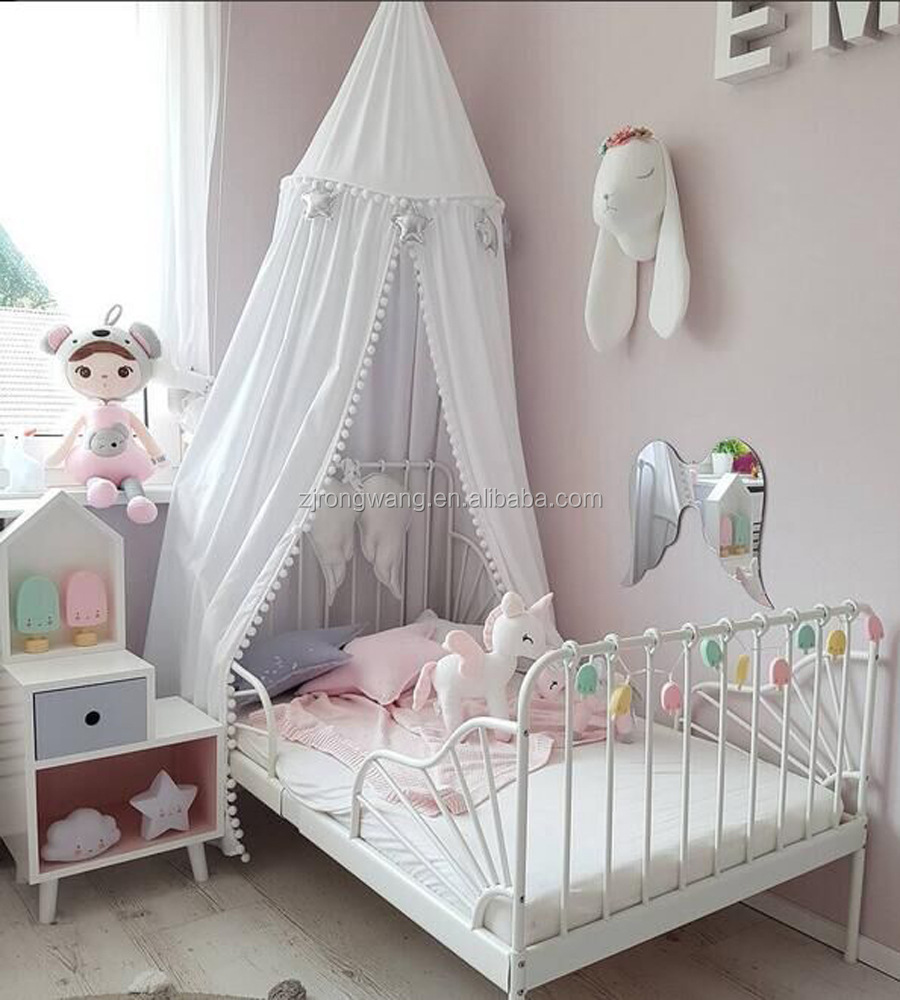 China manufacturer princess style baby canopy kids play castle tent for children's room decoration