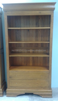 Modern Solid Wood Buffet Hutch