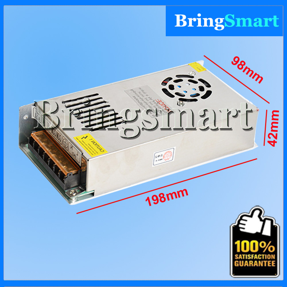 Bringsmart 15A Led Power Supply 12V DC Centralized Switching Power Supply With Fan