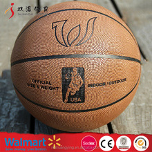 High quality cheap price basketball ball prices/inflation valve basketball