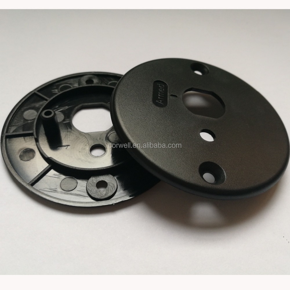 OEM abs injection molded parts sand texture electronic plastic