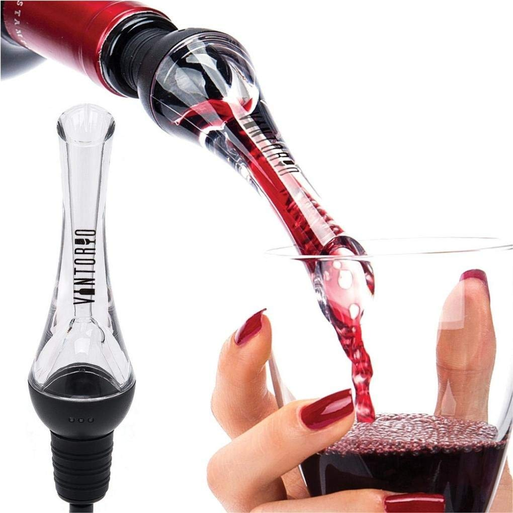 Sujing Wine Aerator Pourer Wine Server Wine Aerating Decanter Spout
