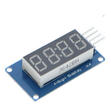 TM1637 LED Display Module For 7 Segment 4 Bits 0.36Inch Clock RED Anode Digital Tube Four Serial Driver Board Pack