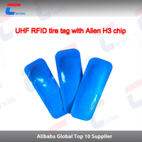 Rubber passive UHF RFID tire tag/ label