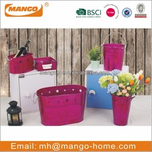 Metallic Color Decorative Party Metal Ice Bucket