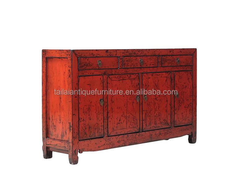 Chinese oude antieke meubelen rode dressoir kast buy antieke