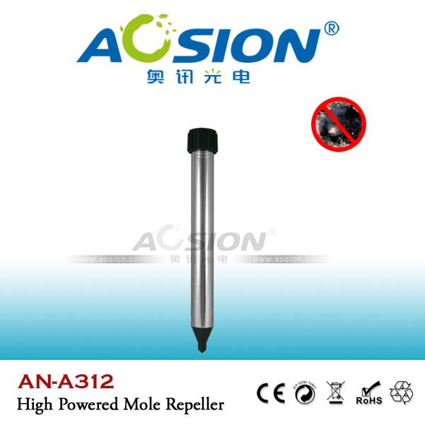 Aosion Garden aluminum tube outdoor battery mouse repellent and anti mole device